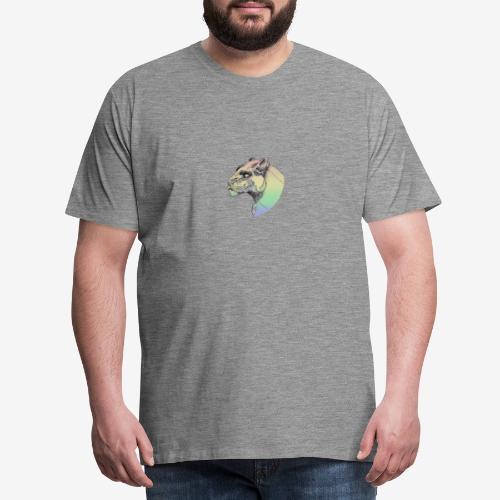 rainbow panther - Herre premium T-shirt