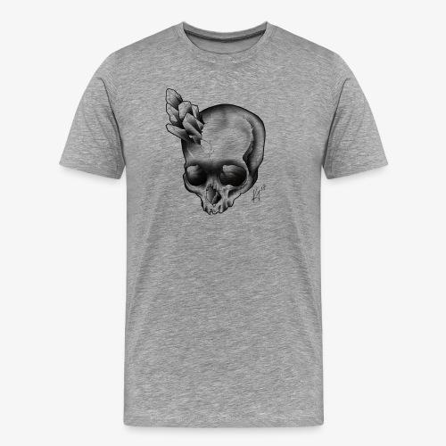 skull crystal - Men's Premium T-Shirt