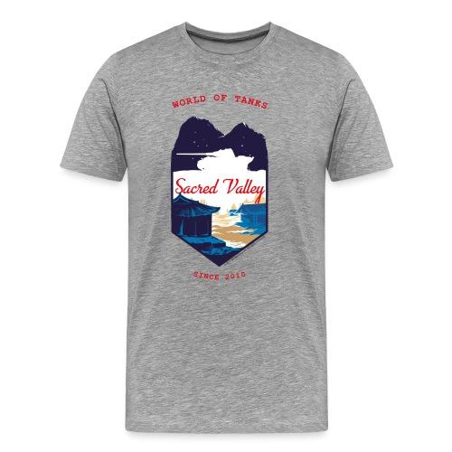 World of Tanks Sacred Valley - Men's Premium T-Shirt