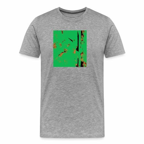 Dancers Pink and Green - Männer Premium T-Shirt