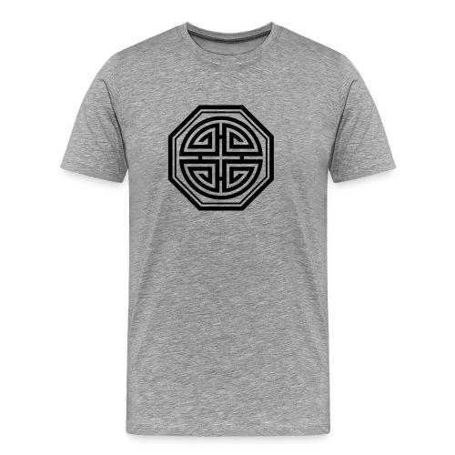 Four blessings, Chinesisches Glücks Symbol, Segen - Männer Premium T-Shirt