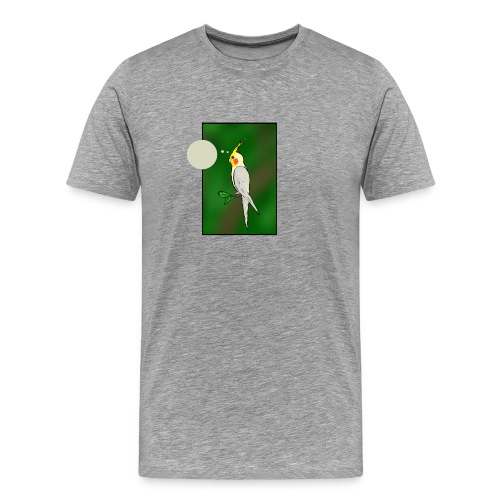 Cockatiel - Men's Premium T-Shirt