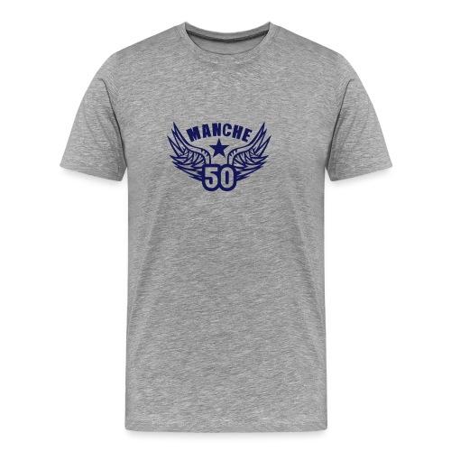 50 manche departement aile normandie - T-shirt Premium Homme