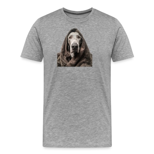 Weimaraner-Fake-Fur - Männer Premium T-Shirt