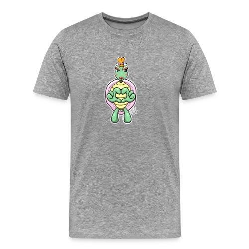 Girlie Turtle/ Schildkröte - Männer Premium T-Shirt