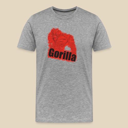 Red Gorilla - T-shirt Premium Homme