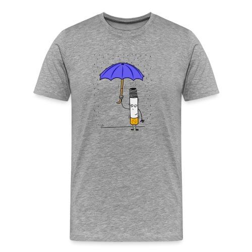 cigarro png - Camiseta premium hombre