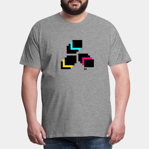 A-217 Screens - Männer Premium T-Shirt