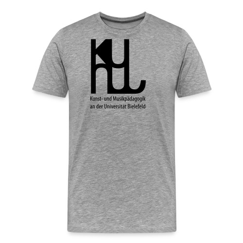 KuMu_schwarz - Männer Premium T-Shirt
