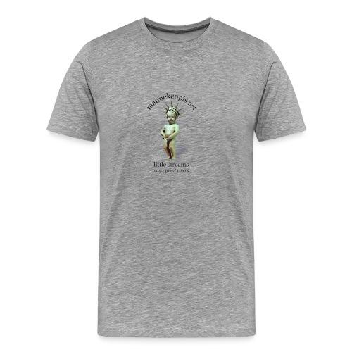 LiBERTY ♀♂   mannekenpis - T-shirt Premium Homme