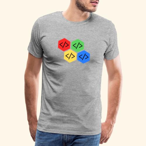 coding - Maglietta Premium da uomo