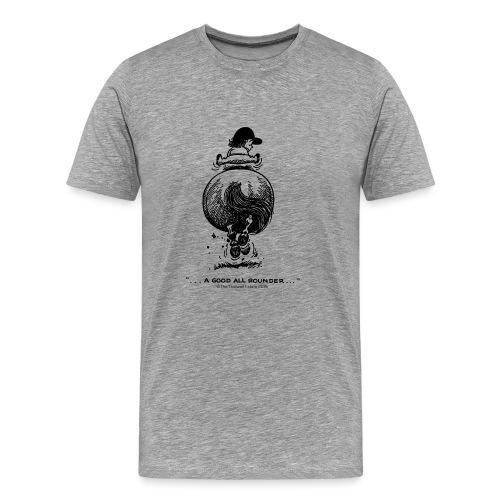 Thelwell Cartoon Pony Galopp - Männer Premium T-Shirt