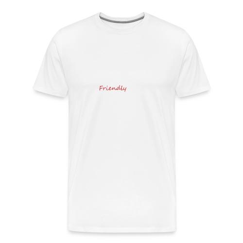 Friendly - Männer Premium T-Shirt
