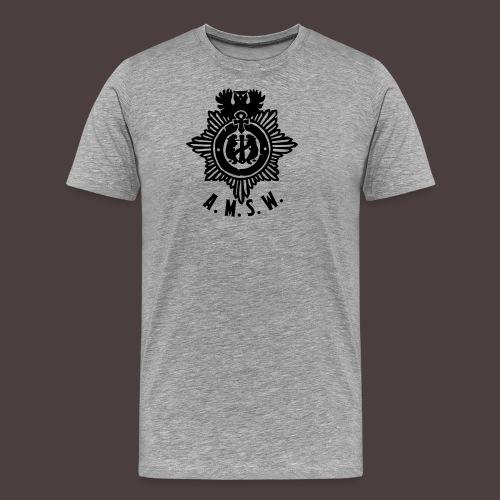 diesntmarke-small - Männer Premium T-Shirt