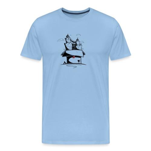 Monde en carton - T-shirt Premium Homme