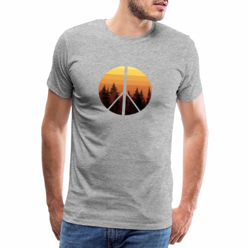 peace and sun - T-shirt Premium Homme