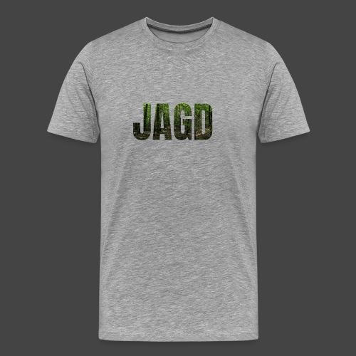 JAGD-Shirt für Jäger/innen, Motiv Wald - Männer Premium T-Shirt
