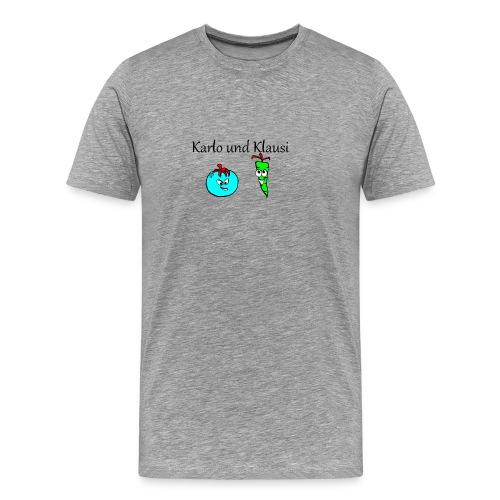 Karlo und Klausi - Männer Premium T-Shirt