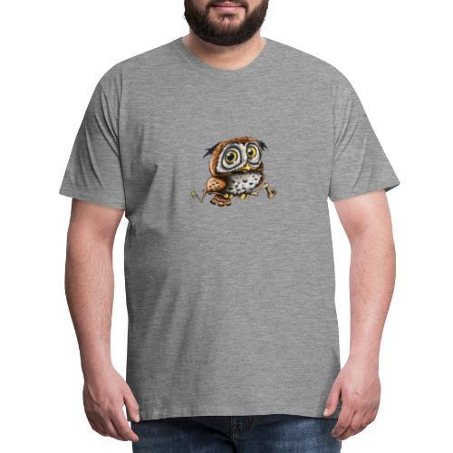 Kleine Eule - Männer Premium T-Shirt