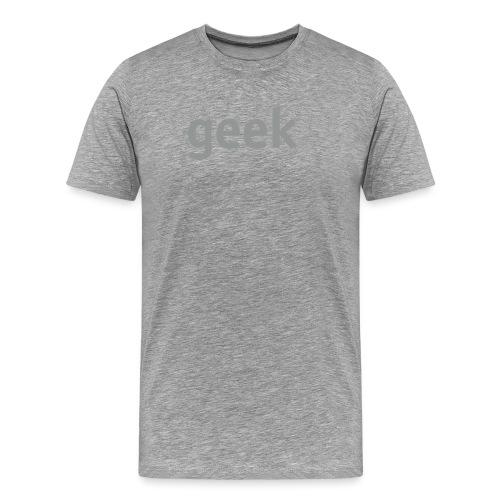 geek - Men's Premium T-Shirt
