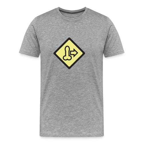 dickmovesymbol - Men's Premium T-Shirt