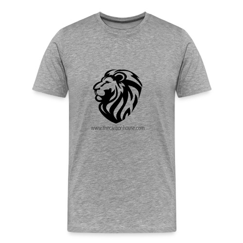 Lion black - T-shirt Premium Homme