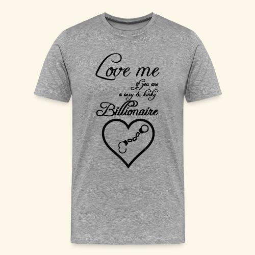 Billionaire Love - Men's Premium T-Shirt