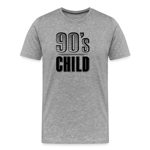 90s Child - Männer Premium T-Shirt