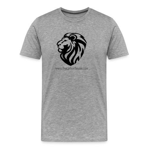 Lion black - T-shirt Premium Homme