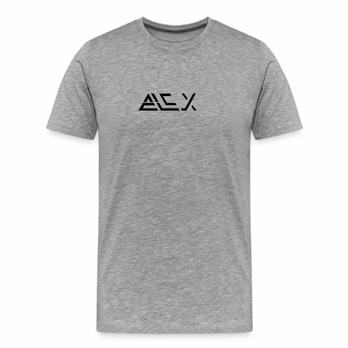 Mörk logga - Premium-T-shirt herr
