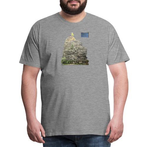 feuersteinklippe schierke harz 3 - Männer Premium T-Shirt
