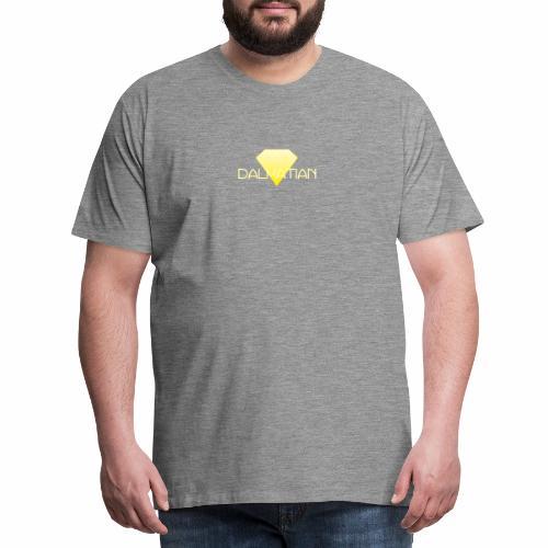 Yellow Dalmatian Diamond - Premium-T-shirt herr