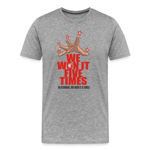 DIAN WWI5T png - Men's Premium T-Shirt