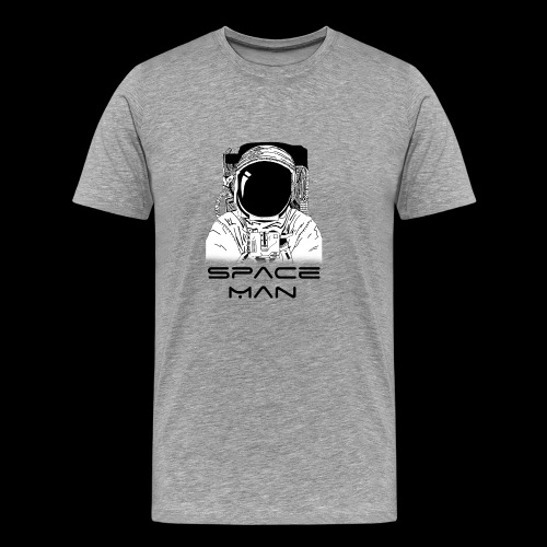 Space man black - Men's Premium T-Shirt