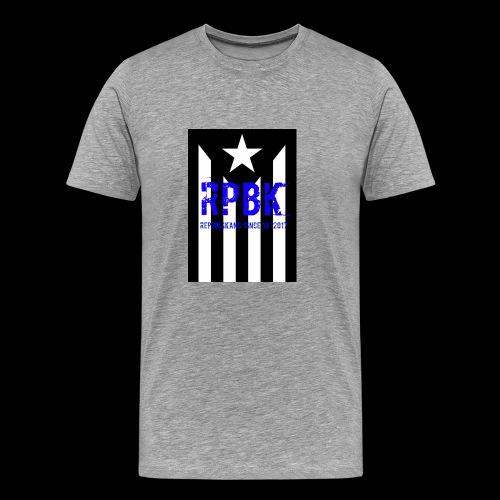Nuestro logo RPBK - Camiseta premium hombre