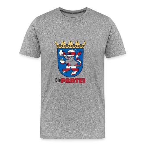 partei hessen wappen - Männer Premium T-Shirt