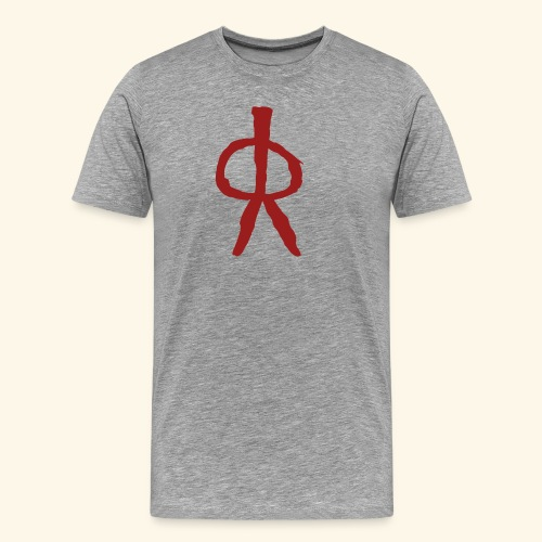 Pintura Rupestre - Camiseta premium hombre