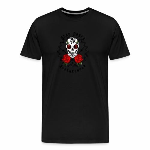 Dead Roses 2nd Logo - Men's Premium T-Shirt