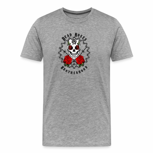 Dead Roses 2nd Logo - Men's Premium T-Shirt