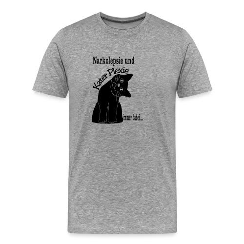 Narkolepsie Kater Pelxie - Männer Premium T-Shirt