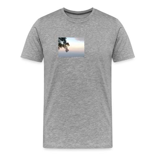 paisaje divivo - Camiseta premium hombre