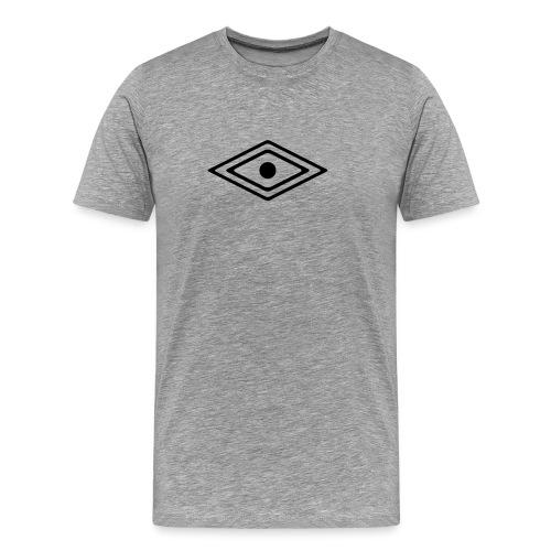 Auge des Medizin Mann, Indianisches Kraft Symbol - Männer Premium T-Shirt