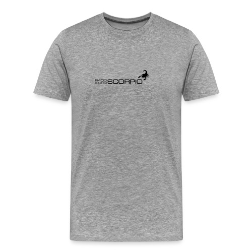 scorpio logo - Mannen Premium T-shirt