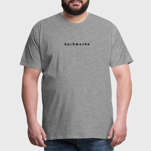 Backwards - Mannen Premium T-shirt