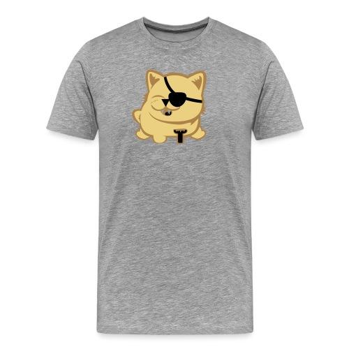 pirat cat - Men's Premium T-Shirt