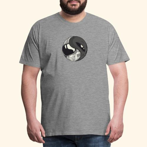 Yin Yang space Alien und Astronaut - Männer Premium T-Shirt