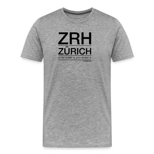 ZRH - Männer Premium T-Shirt