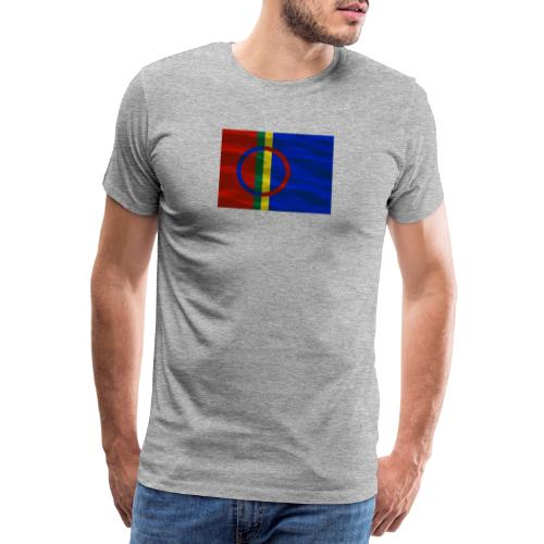 Sapmi flag - Premium T-skjorte for menn