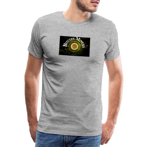 Bitcoin Miners - Männer Premium T-Shirt