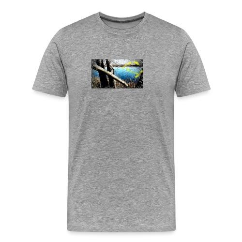 Flotando en la laguna - Camiseta premium hombre